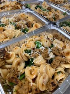 Vegan Italian Seitan Sausage and Broccoli Rabe Pasta | SoCo Vedge - Vegan Food Delivery Service | Narragansett, Rhode Island