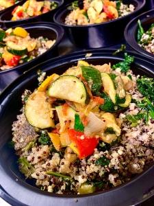 Vegan Power Grain Bowl | SoCo Vedge - Vegan Food Delivery Service | Narragansett, Rhode Island
