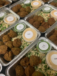 Vegan Z'atar Falafel with Israeli Couscous | SoCo Vedge - Vegan Food Delivery Service | Narragansett, Rhode Island