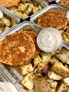 Vegan Crab-less Cakes | SoCo Vedge - Vegan Food Delivery Service | Narragansett, Rhode Island