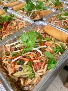Vegan Thai Peanut Noodle Stir Fry | SoCo Vedge - Vegan Food Delivery Service | Narragansett, Rhode Island