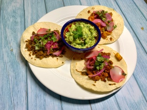 Vegan Tacos - Cauliflower Tinga, Seitan Al Pastor and Spiced TVP | SoCo Vedge - Vegan Food Delivery Service | Narragansett, Rhode Island