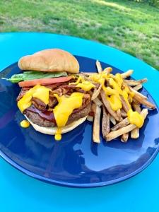 Vegan Smokehouse Burger | SoCo Vedge - Vegan Food Delivery Service | Narragansett, Rhode Island