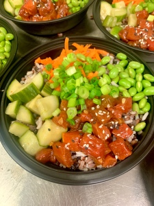 Watermelon Tuna Buddha Bowl | SoCo Vedge - Vegan Food Delivery Service | Narragansett, Rhode Island